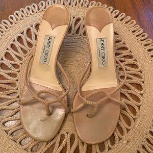 Vintage Jimmy Choo kitten heels